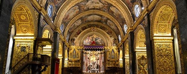 Co-cathédrale Saint-Jean de la Valette-Que faire à Malte