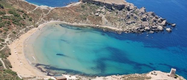 Que faire à malte - Tuffieha Bay