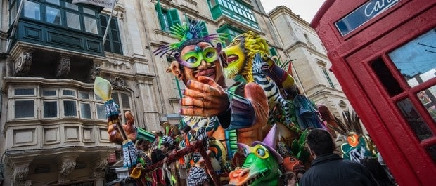 traditions maltaises - Carnaval