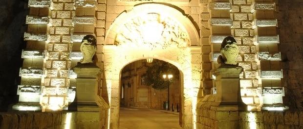 Mdina nuit visiter mdina ancienne capitale de Malte