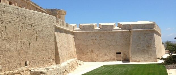 mdina jardins visiter mdina ancienne capitale de Malte