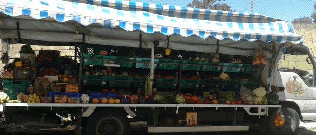 ambulants faire ses courses à Malte