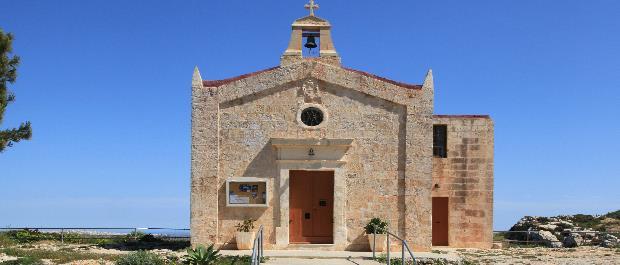 chapelle randonnée à Malte