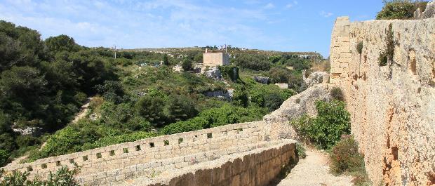chapelle notre dame de Itria randonnée à Malte
