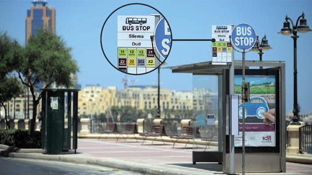 visiter malte en bus circuler à malte