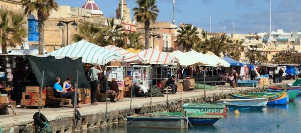 Visiter Marsaxlokk, Malte l'authentique marché