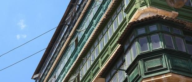 Le balcon, splendeur de Malte