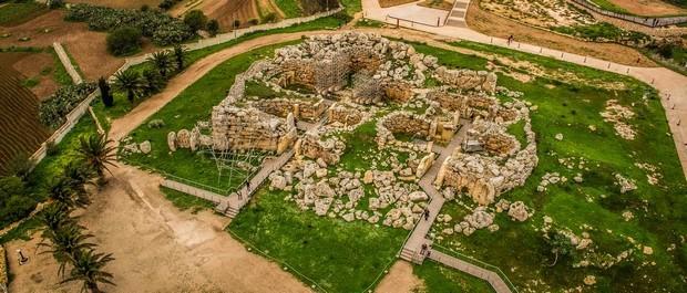 Le temple l gendaire de ggantija for Plan de malte