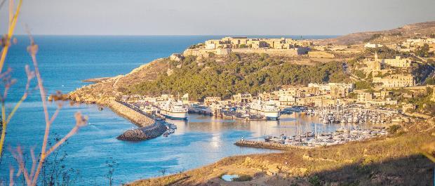 Mgarr Harbour-Visiter Gozo Malte
