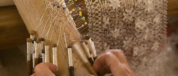 dentelle bizilla artisanat de Malte et Gozo