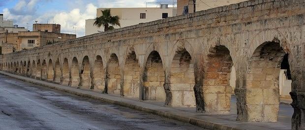 Malte et le Défi de l'Eau Aqueduc Wignacourt