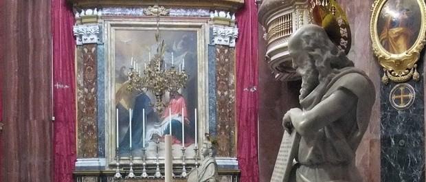 Saint-Paul Personnage de légende de Malte cathedrale MDINA
